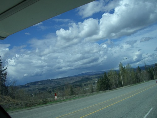 view in Quesnel