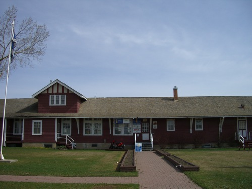 Dawson Creek Visitors' Centre and Museum