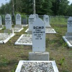 NWMP cemetery (these men died young!)