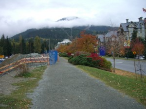 Whistler had a lot of construction going on