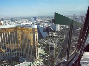 a glimpse of the Strip