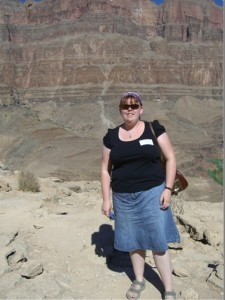 a non-photoshopped picture of me at the bottom of the Grand Canyon