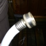 typical fresh water hose fitting