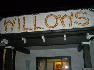 façade representing the third Willows hotel, a popular spot for vacationers to Campbell River at the start of the 19th century