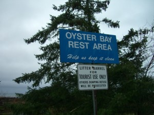 the first rest area outside of Campbell River