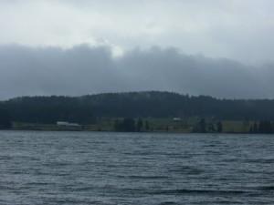 farm across from Baynes Sound Rest Area