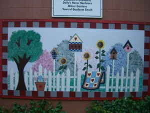 mural in downtown Qualicum Beach