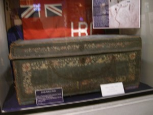 this trunk belonged to Joseph McKay, founder of Nanaimo