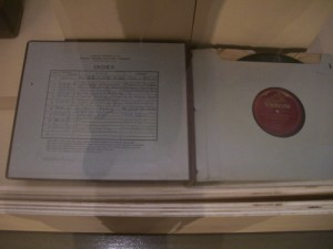 book of Victrola records