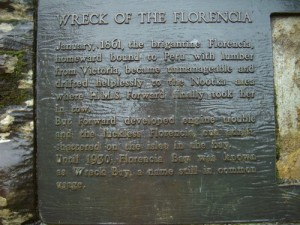 wreck of the 'Florencia'