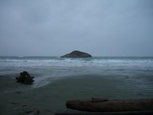 Island off of Long Beach