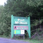 Port McNeill: home of NHLer Willie Mitchell. (who?)