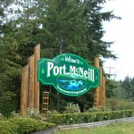 the prettier Port McNeill sign