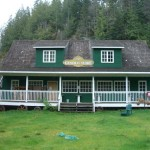 Telegraph Cove general store (closed for the season)