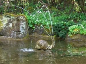 the snail fountain