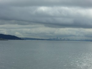 first glimpse of Vancouver!