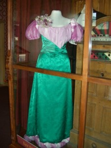 ball gown displayed in the Palace Grand