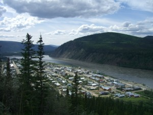 Dawson from the Lookout