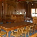 the courtroom is still used every few months when the circuit judge comes