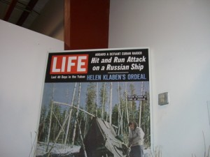 LIFE magazine article about the Klaben/Flores plane crash