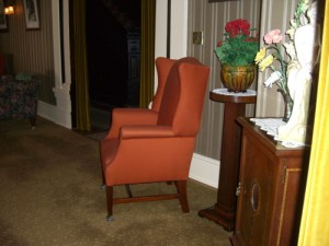 I fell in love with this chair