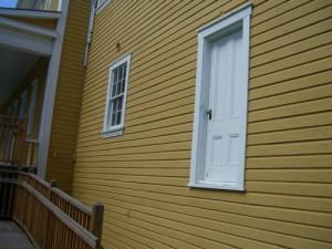 door going nowhere...