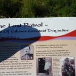 placards dedicated to the Lost Patrol