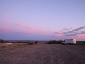 5:30am at Eagle Plains