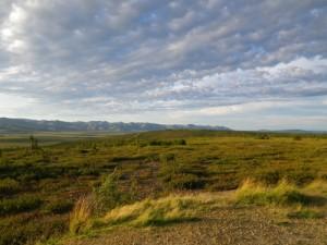 view at the Arctic Circle