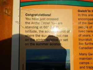 about the Arctic Circle