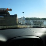 on the Peel River ferry