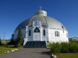 another shot of the Igloo Church