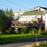 one of the prettiest and best landscaped homes in Inuvik