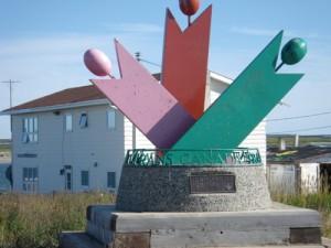 Trans Canada trail marker