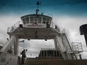 the Mackenzie River ferry