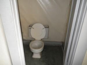 toilet room off a massive bathroom