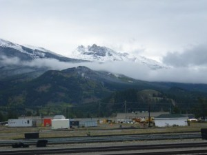 Jasper train yard