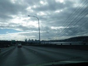 entering Seattle