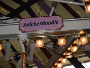 each carousel horse had a name; this was mine