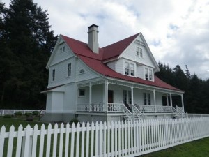 former lightkeeper's residence, now a luxury B&B