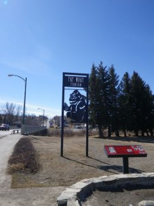 Cardston's little homage to its most famous resident