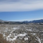 the site of the Frank slide, the deadliest in Canadian history