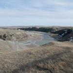 Oldman River dam site