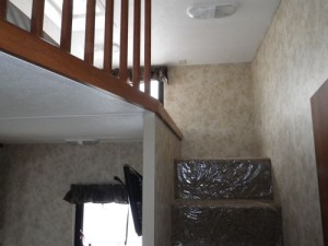proper stairs up to a loft!