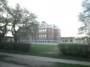 Humboldt Elementary School (looks like an insane asylum)