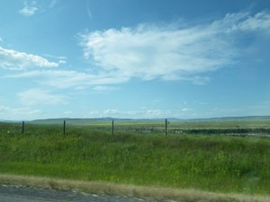 I love the big open skies of southern Alberta