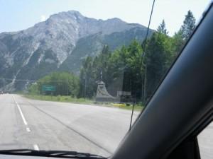 re-entering Alberta