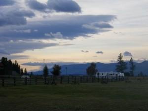 Kootenay sky
