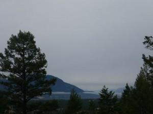 vista just south of Radium village