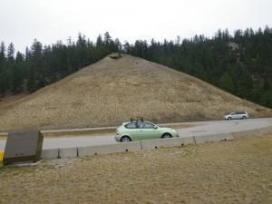 you'd swear my car was in the Okanagan!